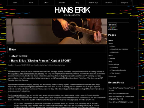 official web page