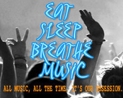 Eat Sleep Breathe Music Image